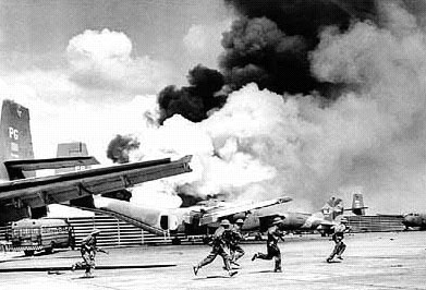 NVA Soldiers on Tan Son Nhat Airbase  - April 30, 1975